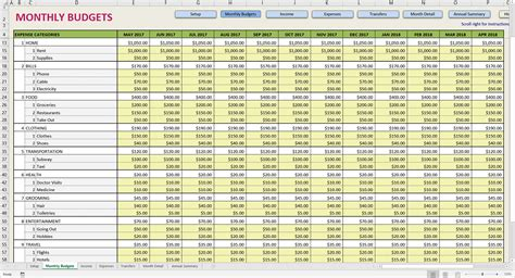 Yearly Expenses Spreadsheet by Yearly Expenses Spreadsheet Laobingkaisuo