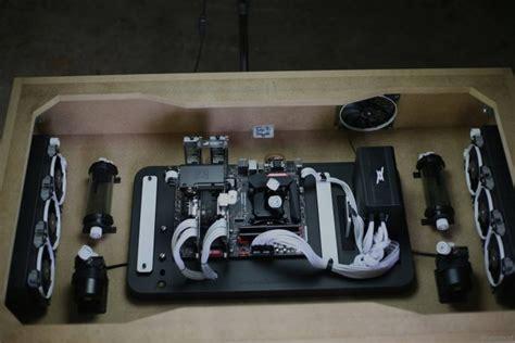 boitier bureau watermod desk les travaux se poursuivent modifications