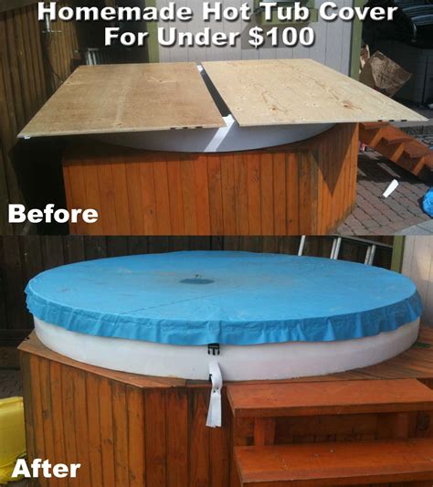 make your bathtub a jacuzzi diy hot tub cover projects