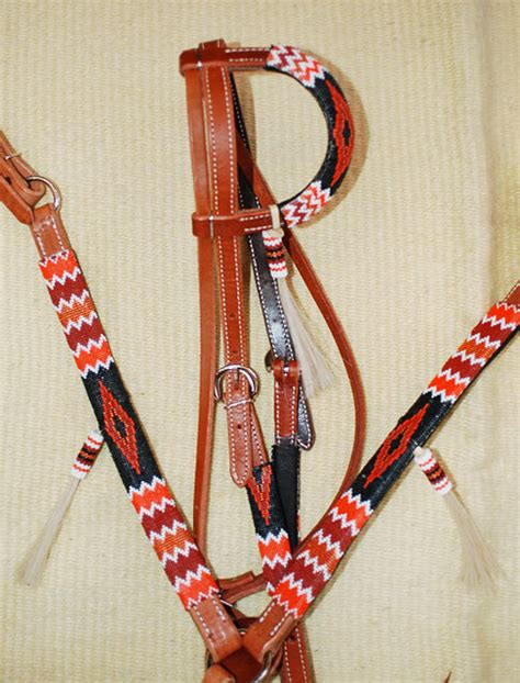 beaded tack product details quot jicarilla cliffs quot handmade beaded tack