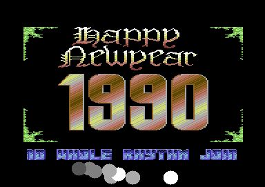 new year 1990 year of the csdb happy new year by world wide expressive 1990