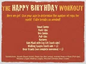 birthday fitness quotes quotesgram