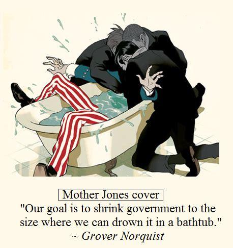grover norquist bathtub bumper sticker wisdom yogi berra said it best