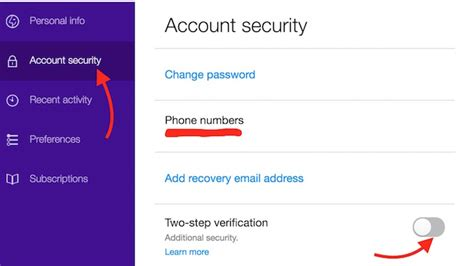 email yahoo verification how to enable 2 step verification for yahoo mail