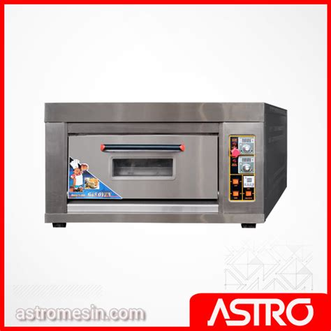 Oven Pemanggang Roti Kue 1 Deck Fomac harga oven roti oven kue oven bolu gas deck oven