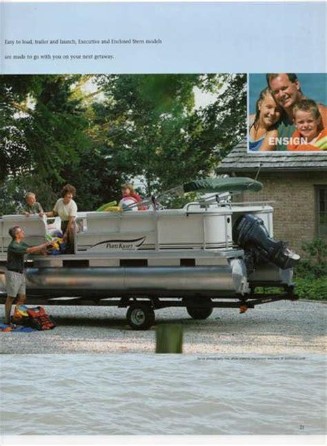 parti kraft pontoon boat covers parti kraft 2003 pontoon brochure sailinfo i