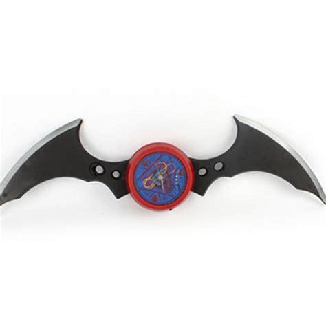 Fidget Spinner Batman Toys cool batman batarang fidget spinner ring alloy tri spinner adhd anti autism ebay