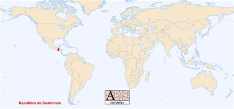 guatemala on world map world atlas the sovereign states of the world guatemala