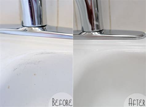 best way to clean porcelain sink how to make an old porcelain sink look brand new using