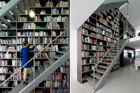 one of my houses rotterdam netherlands bookcase