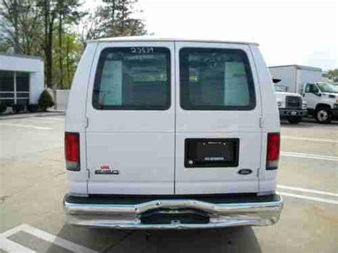 Cargo With Sleeper For Sale by Sell Used 2008 Ford E150 Cargo W Sleeper Second Row