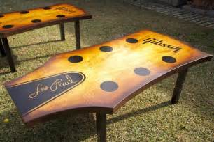 Guitar Coffee Table Crafted Guitar Headstock Coffee Table By Heartsong