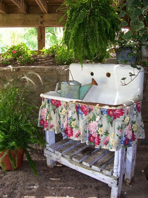 vintage backyard garden ideas potting sheds potting benches outdoor
