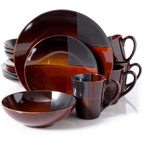 dinner set convergence kitchen tableware dinner plates glass sets 16