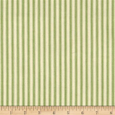 Home Decor Sewing Patterns 44 Quot Ticking Stripe Canvas Twill Apple Green Discount