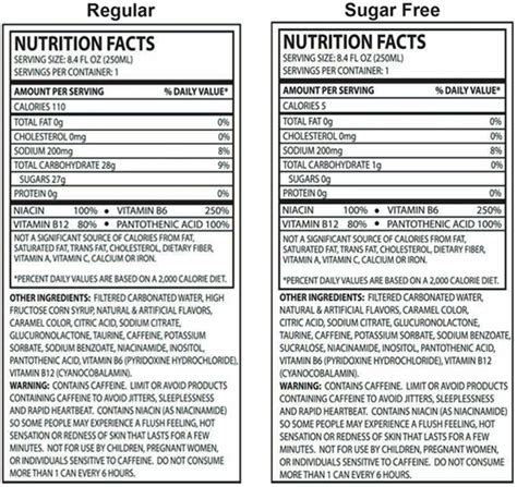 energy drink nutrition label energy drinks custom and label the drink ink