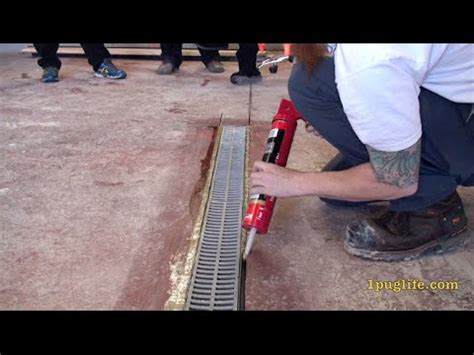 How To Install A Garage Floor Drain by How To Install A Floor Drain