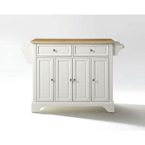 home styles orleans butcher black carmel kitchen island in lafayette natural wood top kitchen island in white finish