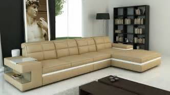Beige Sectional Sofa Beige Leather Sectional Sofa Vg132 Leather Sectionals