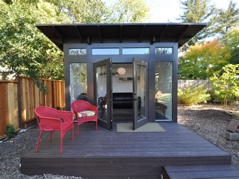 Give Your Backyard An Upgrade With These Outdoor Sheds Backyard Studio Plans