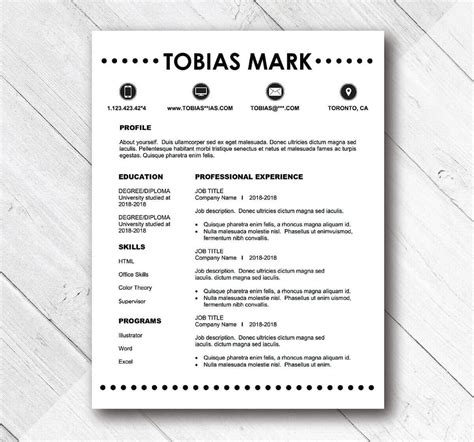 simple resume templates 2018 simple resume templates 15 exles to use now