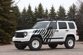 jeep with zebra stripe   cars trucks wraps decals   Pinterest