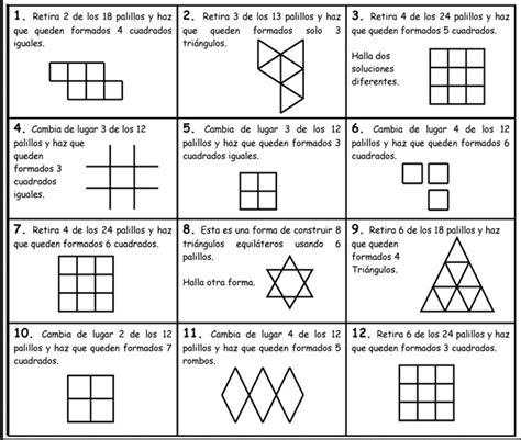 imagenes para pensar juegos juegos de matem 225 ticas para pensar imagui