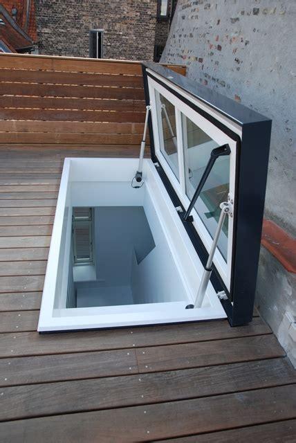 Dachterrasse Ausstieg by Dachterrasse Mit Ausstieg Und Treppe Staka