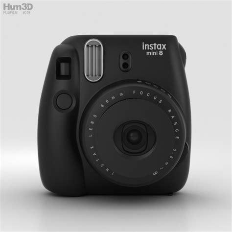 Fujifilm Instax Black fujifilm instax mini 8 black 3d model hum3d