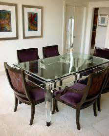 Acrylic Dining Table And Chairs Alkemie Lucite Acrylic Furniture Sources