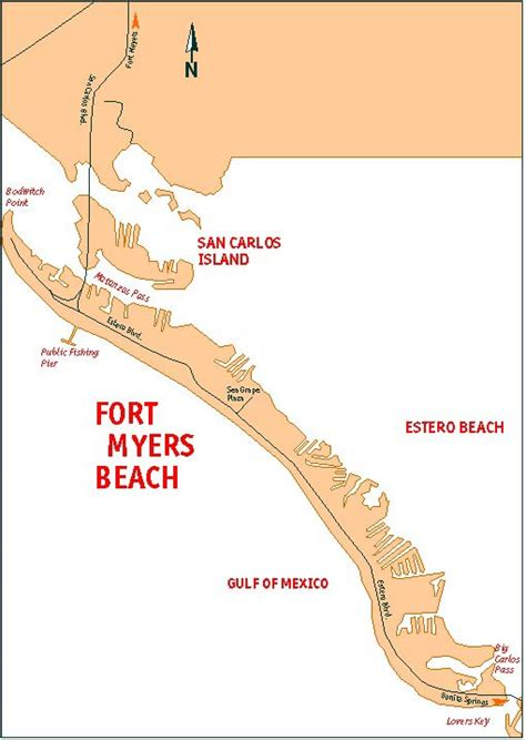 fort myers resort map a guide to fort myers florida accommodations hotels