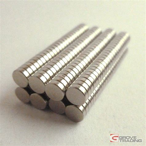 Murah Neodymium Magnet 3mm 3mm x 2mm earth neodymium magnets