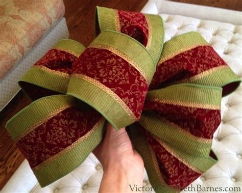 how to make christmas bows