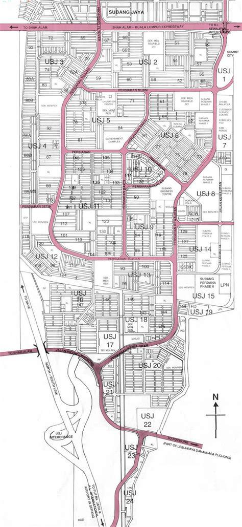 map usj subang jaya usj subang jaya e community map of usj