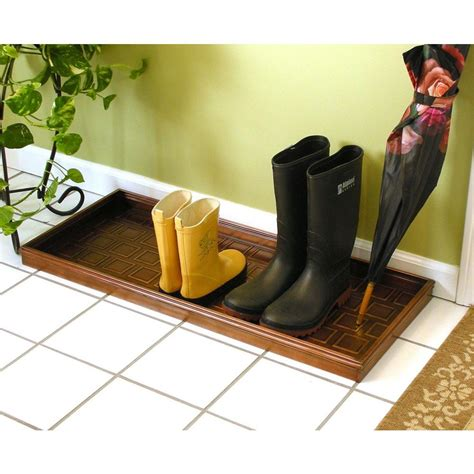 Shoe Tray For Entryway directions copper storage furniture 103vb the home depot