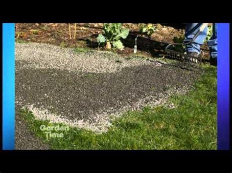 Landscape Fabric Laying Landscape Fabric Tips Rustyshovel Tv Episode 15
