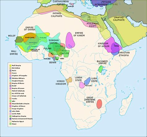 africa map modern historical map index