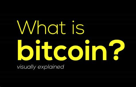 bitcoin what is it what is bitcoin explained visually with bitcoin infographics