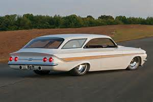 the 1961 impala bubbletop wagon that knocked em dead in
