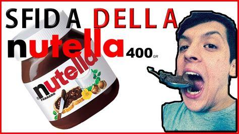 Nutella 400 Gr 2x200 Gr sfida nutella 400 gr