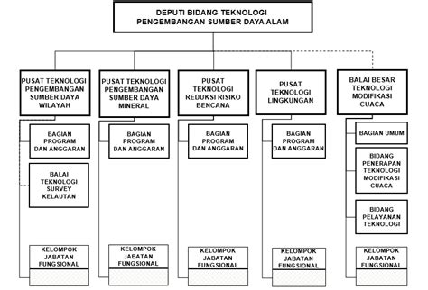Cangkang Kapsul Rumput Laut Kapsul Kosong Rumput Laut badan pengkajian dan penerapan teknologi struktur organisasi