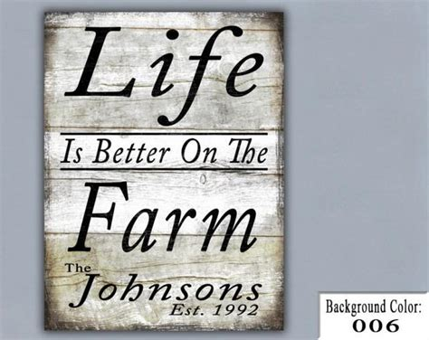 Handmade Wooden Signs Personalized - farm handmade sign wooden sign wood sign home decor