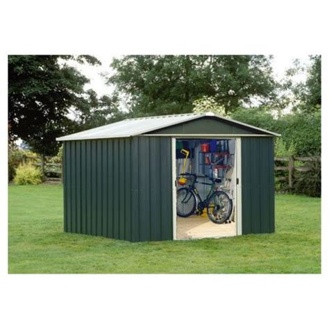 buy yardmaster titan metal apex shed 10x8ft from our