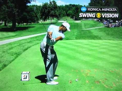 tiger woods swing slow mo tiger woods ultra slow motion analysis august 3 2013