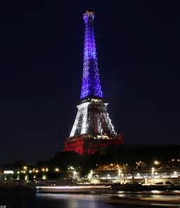 Lit Up by Attacks Remembered As World Buildings Light Up In