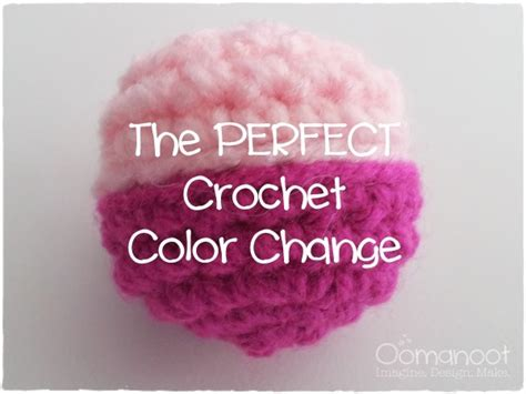 how to change colors crochet the crochet color change oomanoot