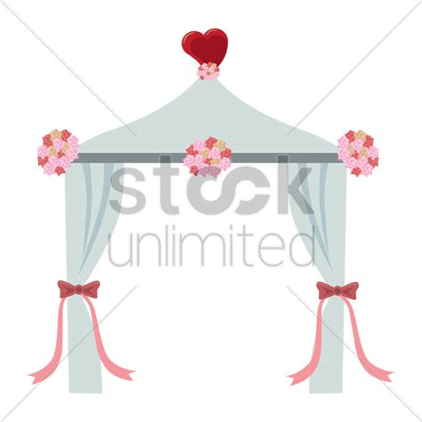 Wedding Arch Vector by Free Wedding Arch Vector Image 1345693 Stockunlimited