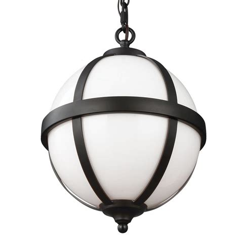 bronze glass pendant light globe electric 3 light oil rubbed bronze and glass vintage
