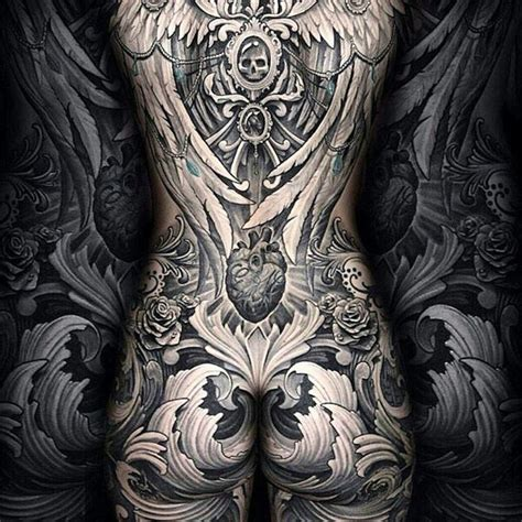 tattoo girl whole body 54 best full body tattoo nude body tattoos for girls and