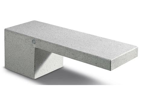 composite material bench ambra by metalco design alena